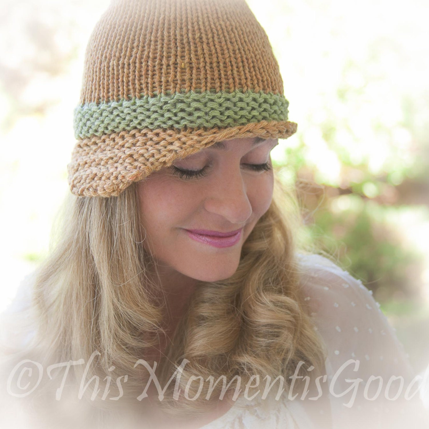18bc64ba2 Vintage Style Crocheted Cloche Hat Head of the ClassChemo
