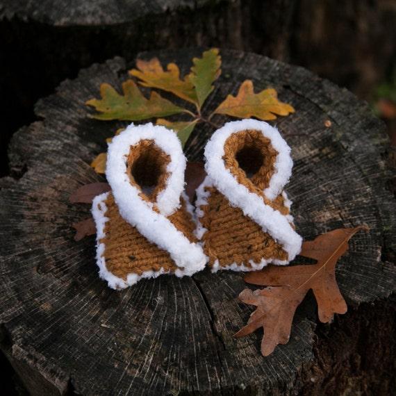 Loom Knit Baby Mocassin Pattern Loom Knit Baby Shoe Loom Etsy
