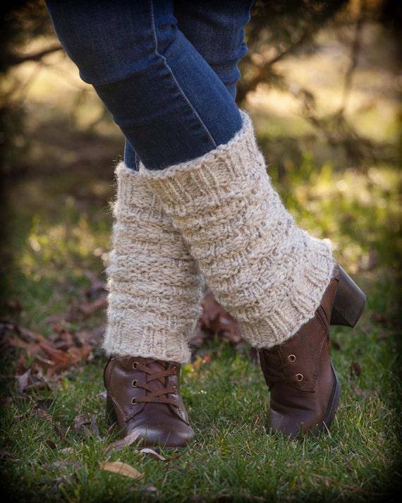 Loom Knit Legwarmer Pattern Forest Walk Ladies Legwarmers Etsy