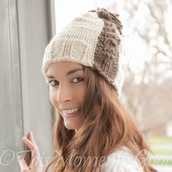 Loom Knit Cable Hat PATTERN. The Cable Express Hat PATTERN.  0adb7c66c33