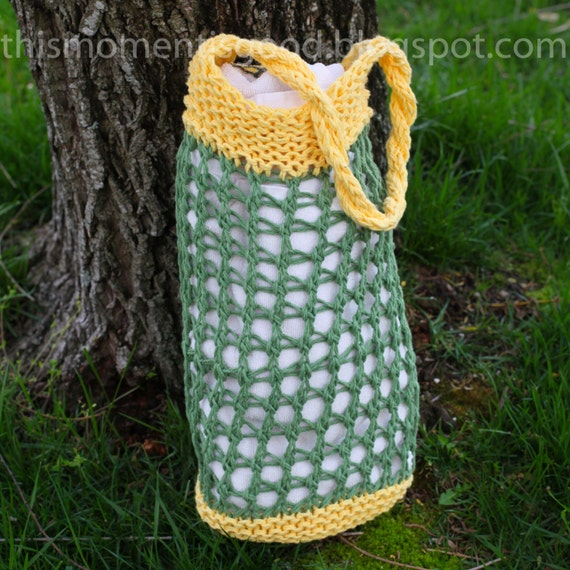 Loom Knit Market Bag Pattern This Versatile Bag Can Be Used