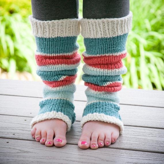 Loom Knit Legwarmer Pattern Loom Knit Yoga Legwarmers Loom Etsy