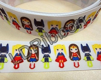 "1"" Girl Grosgrain Ribbon"
