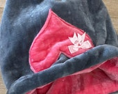 Luxury faux fur snuggle sack