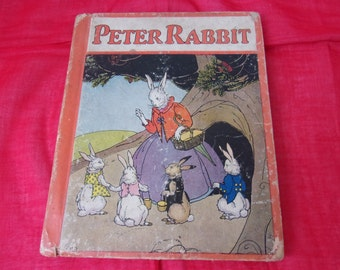 1:12 SCALE MINIATURE BOOK PETER RABBIT AND SAMMY SQUIRREL DOLLHOUSE SCALE