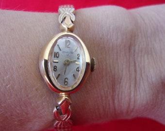 ec651dcc19d1 Vintage Ladies Sleek Mid Century 50 s Watch