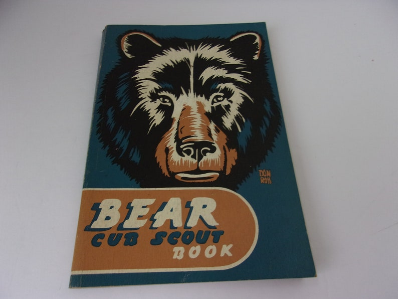 Bear Cub Scout Book