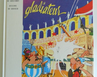 Asterix Gladiateur Hardcover Book in French