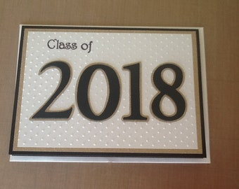 2018 Graduation Card