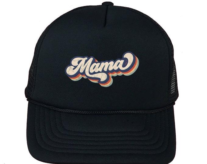 Mama Trucker Hat, Foam Trucker Hat, Trucker Caps for moms , Gift for Mom Trucker Caps, Unisex Trucker Caps Hats, Gift for her