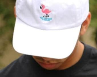 Flamingo Baseball Hat | Pink Flamingos Dad Hat Flamingo Gift, Flamingo Party, Tumblr Hats, Tropical Flamingo , Pink Flamingo Dad Hats Tumblr