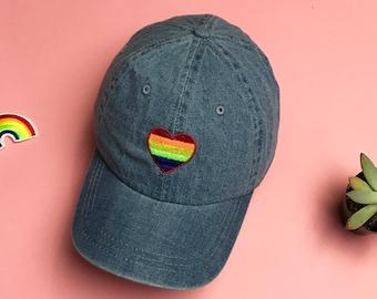 39999f24 PRIDE Hat Gay Pride Dad Hat, LGBT Hat, Rainbow Baseball Hat, Lesbian  Baseball Cap, Pride Flag Hat, Lgbt Baseball Hat, Pride Baseball Hat