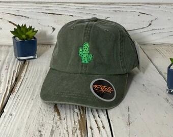 CACTUS FLOWER Dad Hat Succulents Baseball Caps Plant Caps  e02c51c81de5