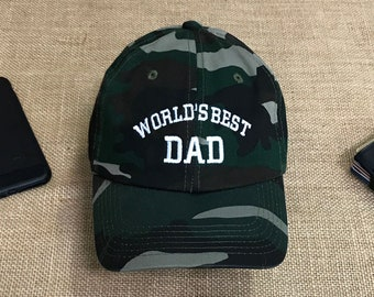 2b4b6fb6 BEST DAD Baseball hat, World's BEST Dad Hat, Gift for Dad, Gift for him,  Best Dad Hat, Gift Ideas for Dad, Fathers Day Gift, Dad Hats Tumblr