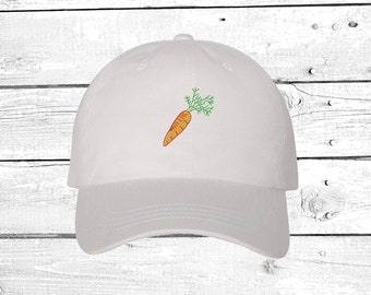 1781e26f96cd Carrot Baseball Hat Vegan Clothing Gift for Vegan Hat for sun Carrots  Unisex Hats Lover Vegan Gift Dad Hats Vegetarian Cap Hat Store