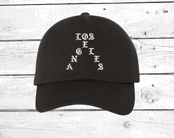 Hats LOS ANGELES Dad Hat Embroidered Baseball Cap Yeezy Dad Hat The life of  Pablo Dad Hats 2f8956e6a2e6
