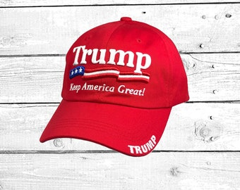TRUMP 2020 Baseball Hat Donald Trump Embroidered Baseball Caps Keep America  Great President Trump Dad Hats 7c5f15990d73
