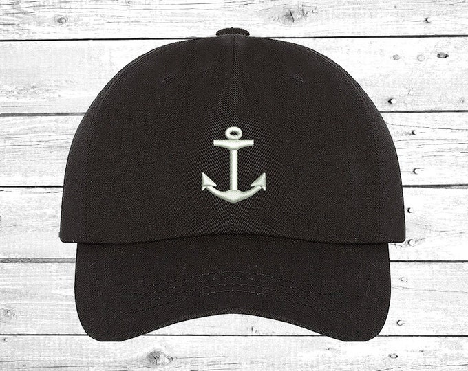 fa847e15da20bd Hats Anchor Cap , Boating Baseball Cap, Sailing baseball hats Girlfriend  Gift Funny Hat,