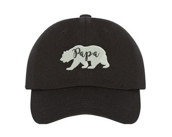 477cfa10127 Papa bear hat