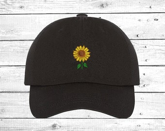 9638f5e153a SUNFLOWER Hats Embroidered Cap