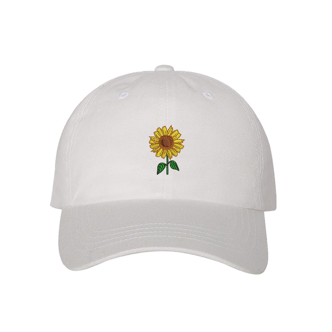 SUNFLOWER Hats Embroidered Cap  c3531d96fbc9