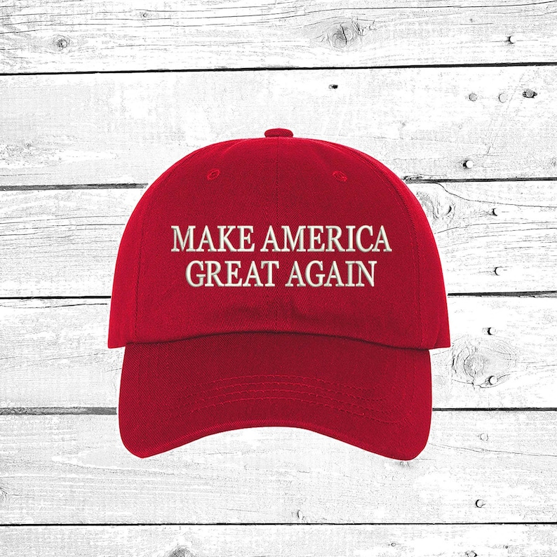 6d45f294402c7 Make America Great Again Baseball Hat Embroidered Dad Cap