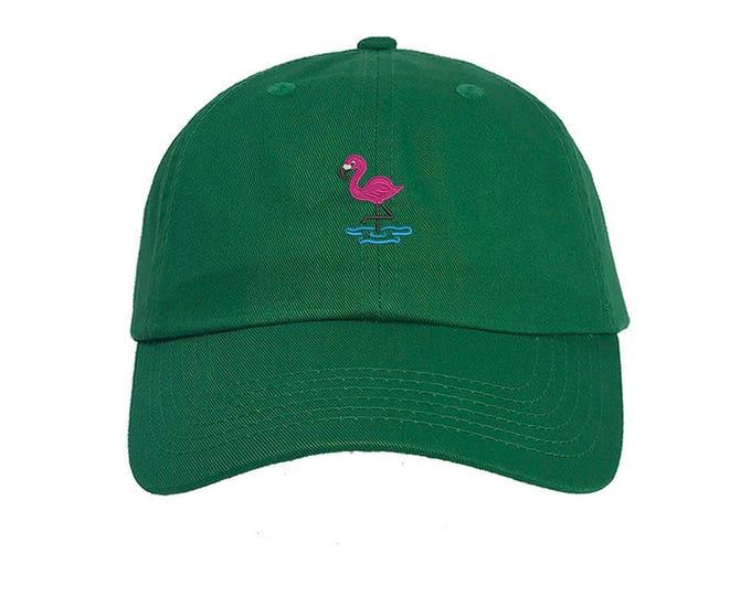 KIDS Hat, Flamingo Embroidered Baseball kids Hat, Child Cap, Camping Kids Baseball Toddler Cap