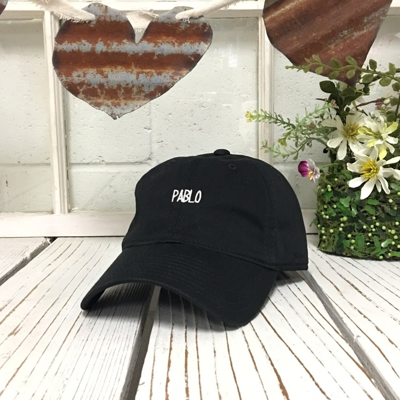 3f7f29bc PABLO Dad Hat The Life of Pablo Dad Hat Yeezy Hat Pablo | Etsy
