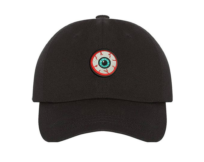 KIDS Hat | Eyeball Baseball Hat | Cosplay Ideas | Bloody Eyeball Cap | Third Eye Costume Hat | Cosplay Helmet | Baseball Toddler Cap