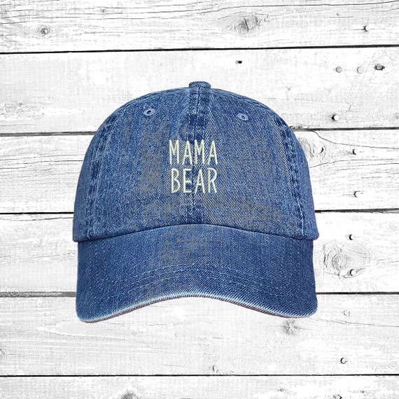 a4e4065dd30 MAMA BEAR Dad Hat Embroidered Baseball Cap Mommy Hat New Mom