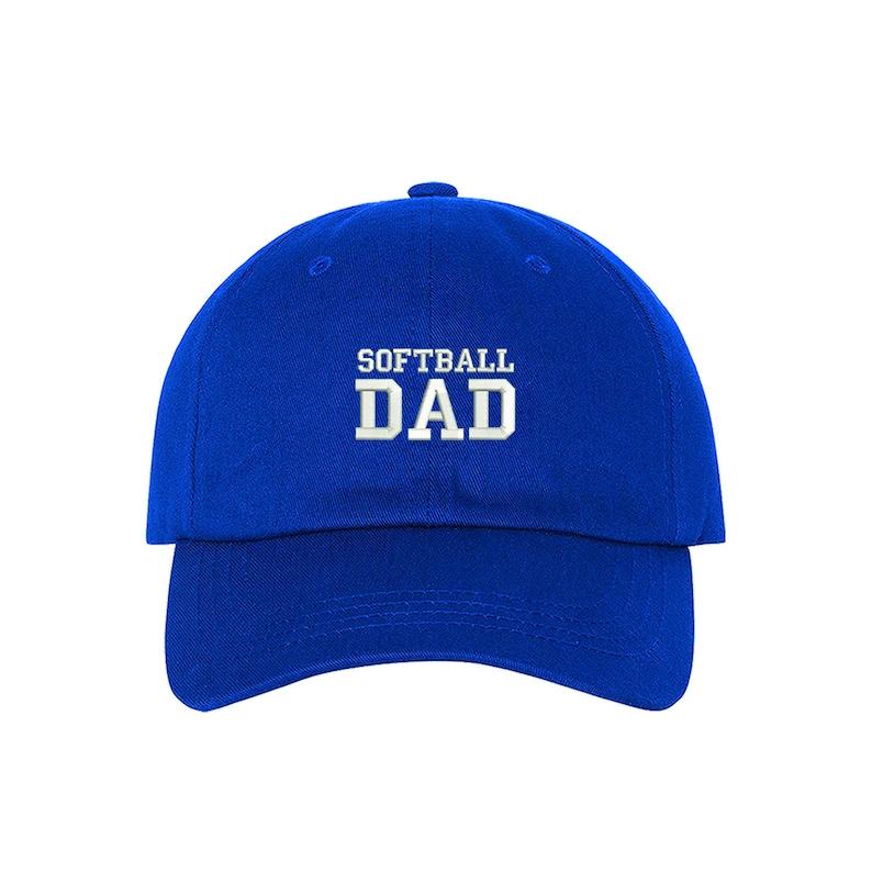 f0ed0ef948c14 SOFTBALL DAD Dad Hat Embroidered Baseball Softball Parents