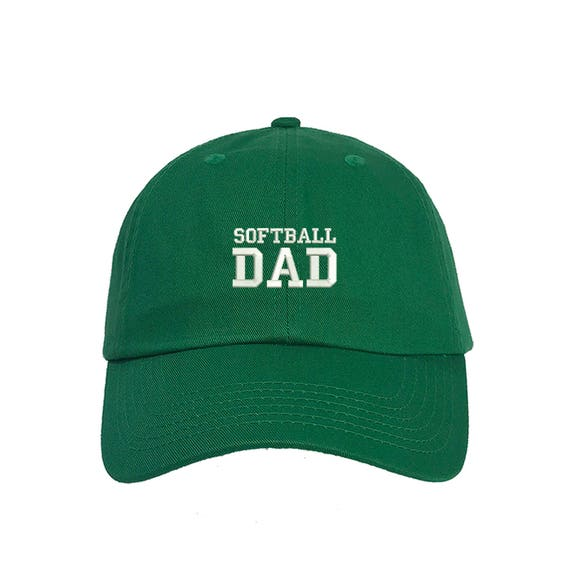 SOFTBALL DAD Dad Hat Embroidered Baseball Softball Parents  fa3f5fb47b0
