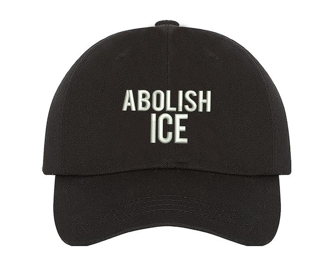 Abolish Ice Baseball Hat Low Profile Hat Embroidered Baseball Caps Pro Immigrant Dad Hats Tumblr Winter Hat Unisex