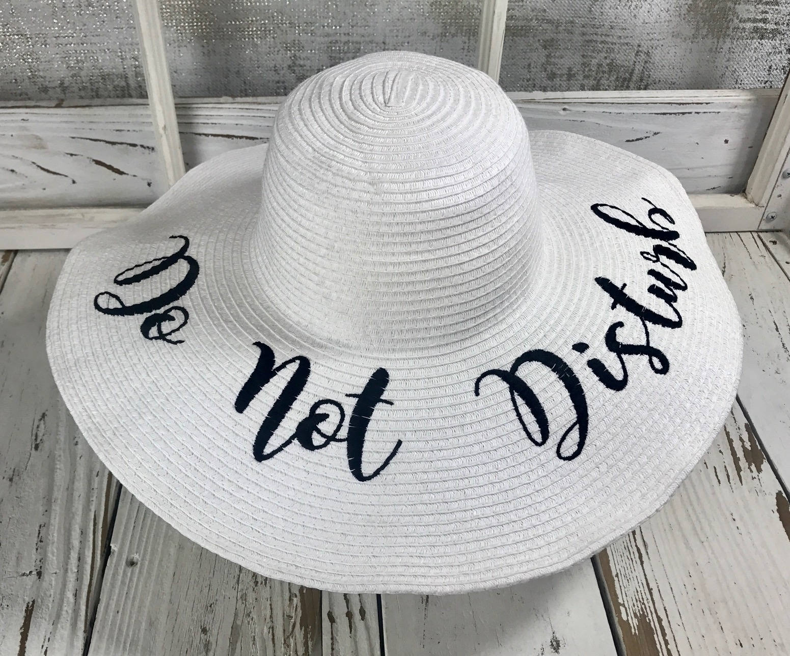 32f98974960 DO NOT DISTURB Beach Sun Hat