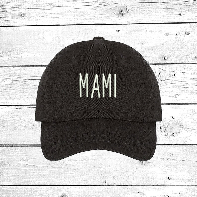 72e4ac5c73259 MAMI Baseball Hat Mothers Day Baseball Hat Mom Hat Low Profile