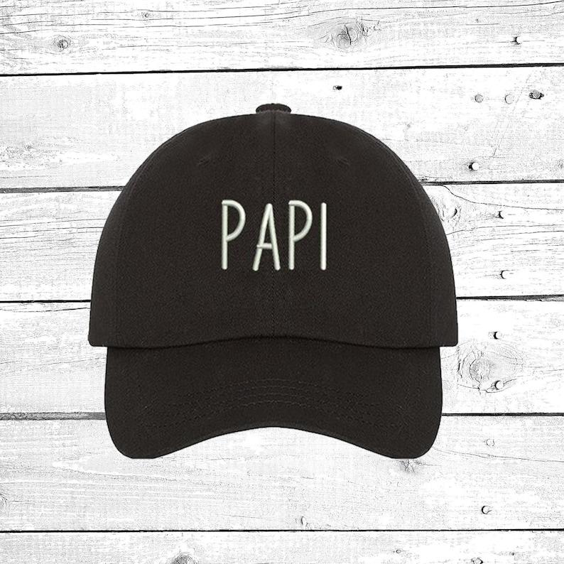 PAPI Baseball Hat Papi Dad Hat Champagne Papi Drake Papi  319e4bd2a029