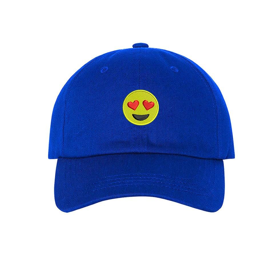 KIDS Hat | Heart Eyes Emoji | Snapchat | WhatsApp | Baseball