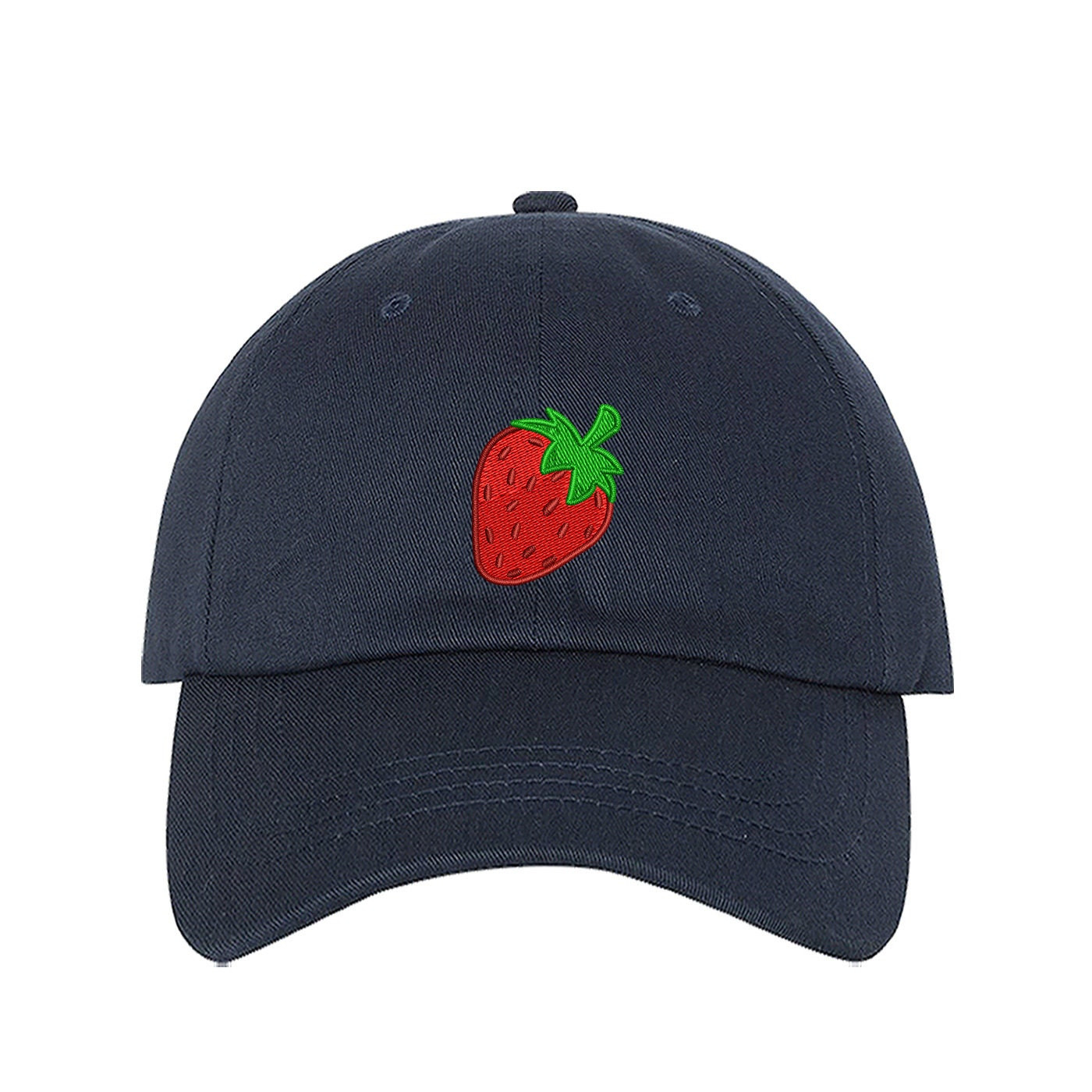 Baseball Hat Strawberry Dad Hat Embroidered Baseball Cap Tumblr Hats ... 3f023a8ad4d0