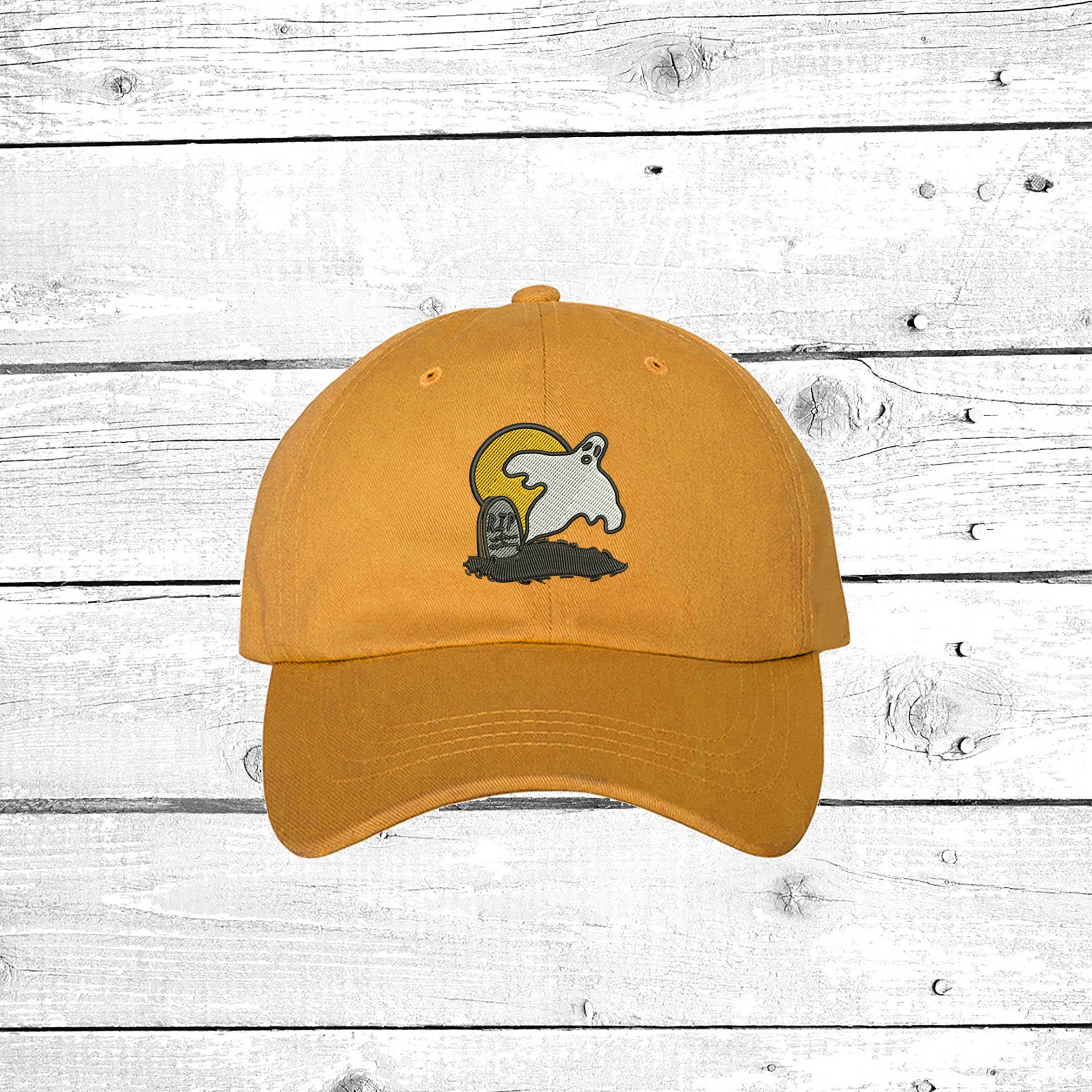 Ghost Dad hat Dad Cap RIP GHOST Hat Spooky Costume Hat Grunge ... a10ce9f15215