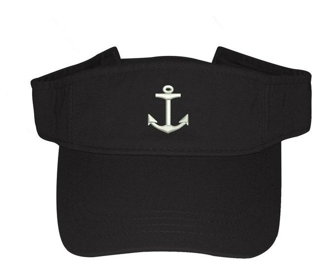 Anchor Visor Labor Day Sun Visors, Flag Visor Hat, Nautical, Memorial Day Visor Hat, Sailor hat, Sun Hat, Beach Hat