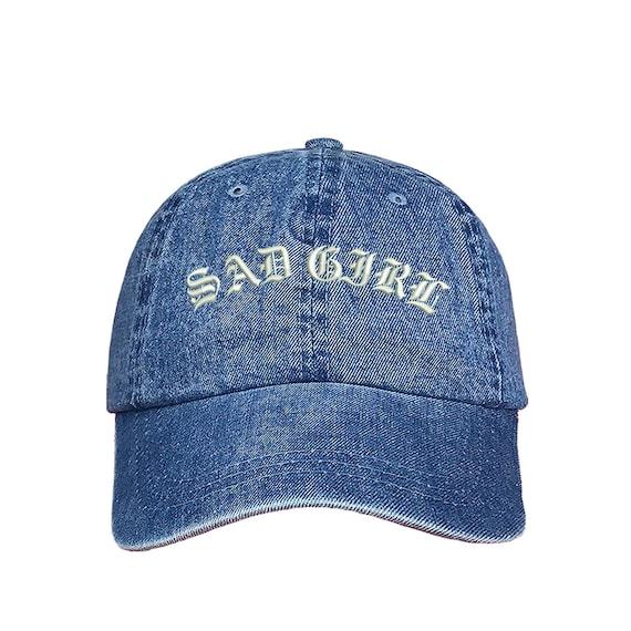 SAD GIRL Dad Hat Sad Boy Hat Latina Gangster Baseball Hat  b52fc11131d8