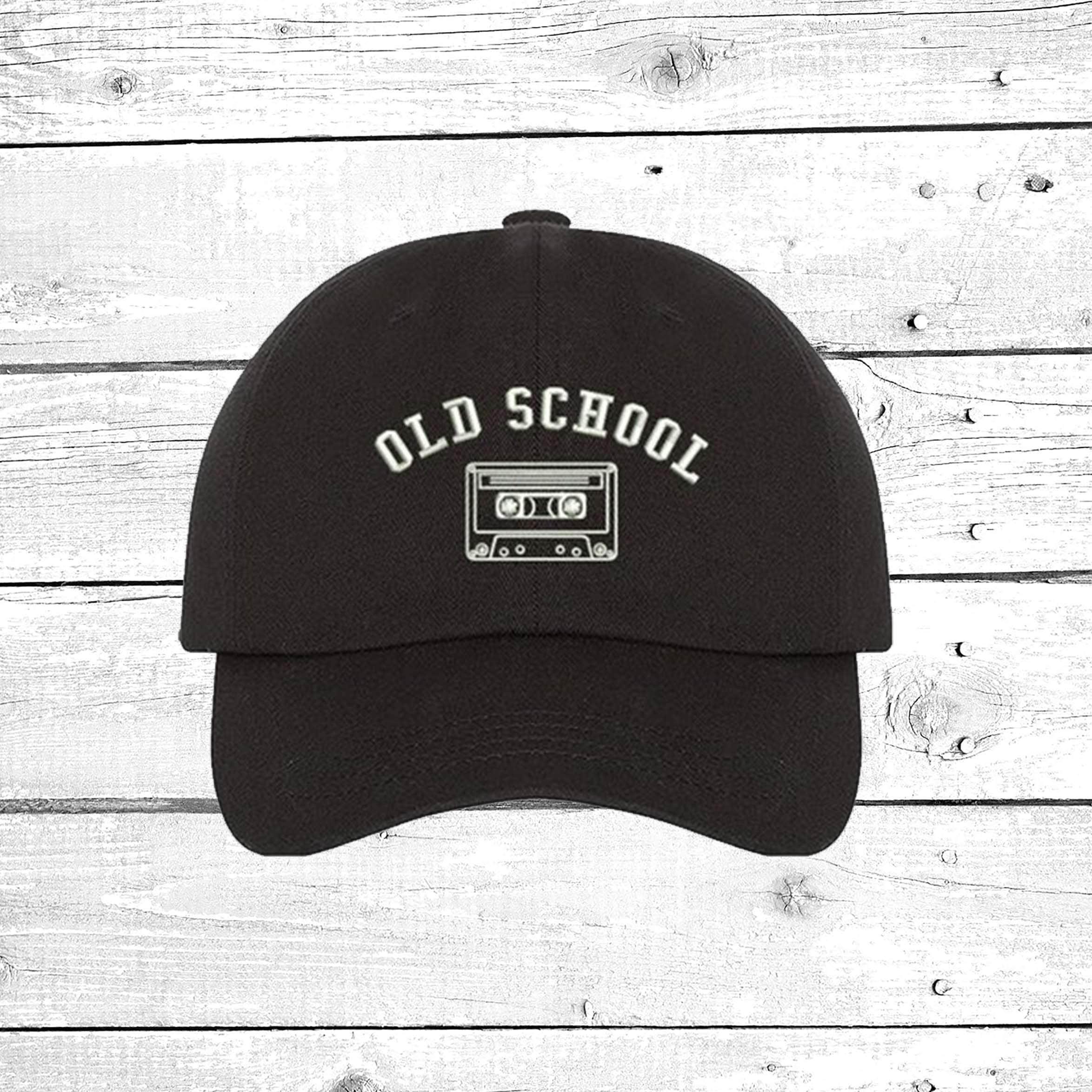 20795331 Hats Vintage 90 S Inspired Old School Cassette Baseball Hat Retro