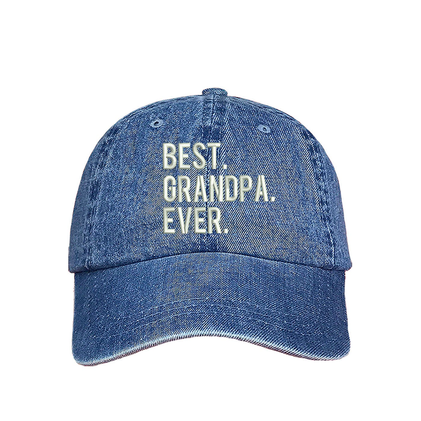6659324bf BEST GRANDPA EVER Dad Hat I Love My Grandfather Papa Gift Best Ever ...