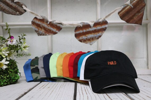 PABLO Dad Hat The Life of Pablo Dad Hat Yeezy Hat Pablo 665257918fc4