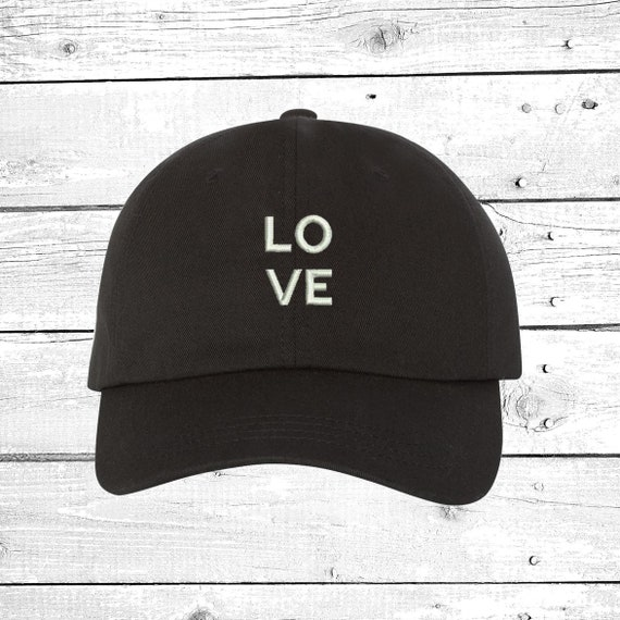 def493a0b50 LOVE Caps Baseball Hat Embroidered Baseball Cap Valentines day