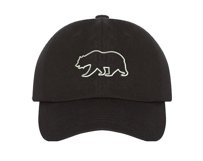 KIDS Hat, Cali Bear Embroidered Baseball kids Hat, Child Cap California Bear Hats,  Bear Kids Baseball Toddler Cap - Baseball Patch Hat