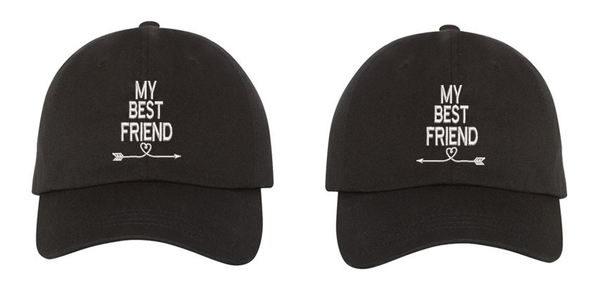 e9f50980f My Best Friend Dad Hats Baseball Cap Gifts for Best Friends Couples Hat His  and Hers Baseball Hat Valentines Caps Matching hats Gift for her