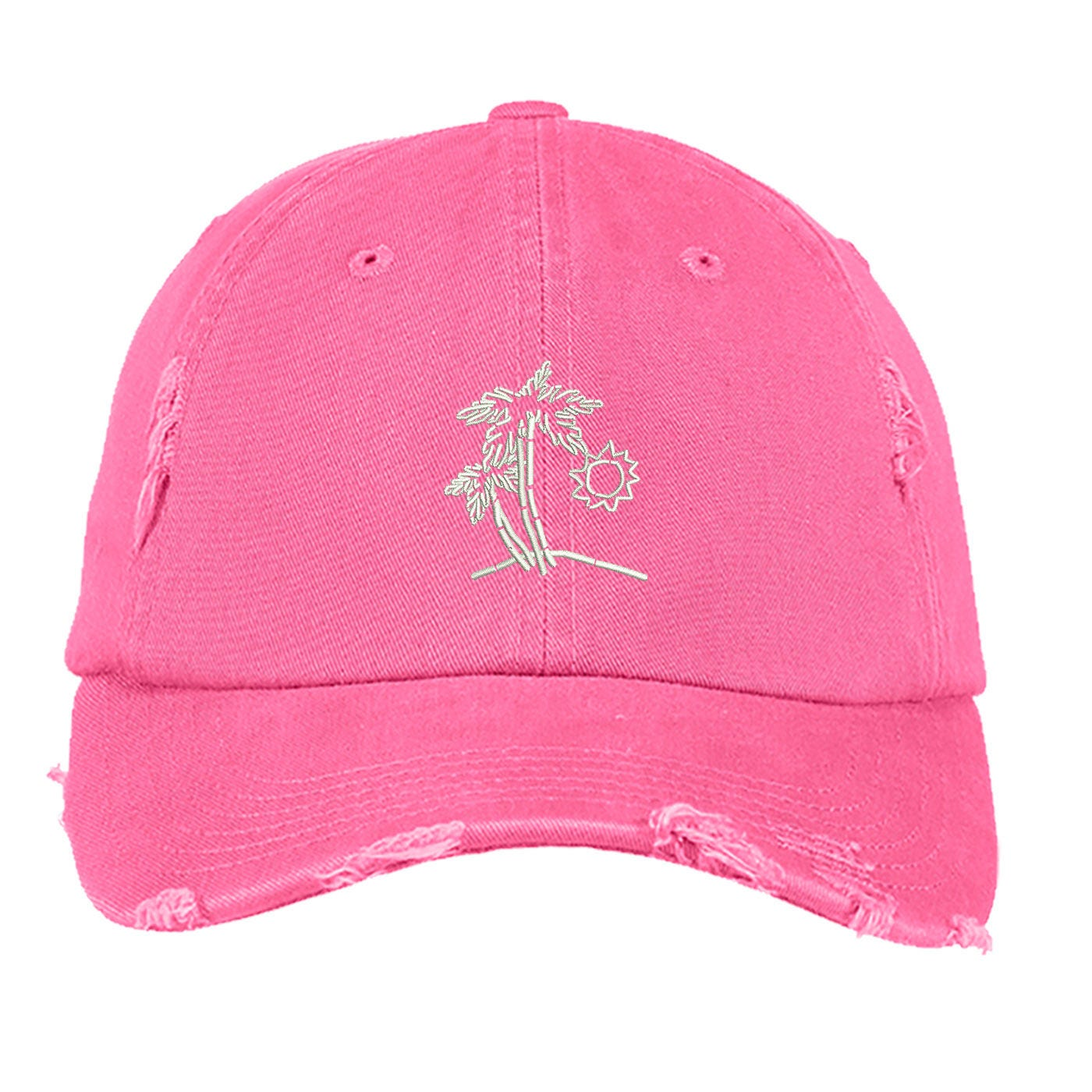 a39126e57876e BEACH SCENE Distressed Dad Hat