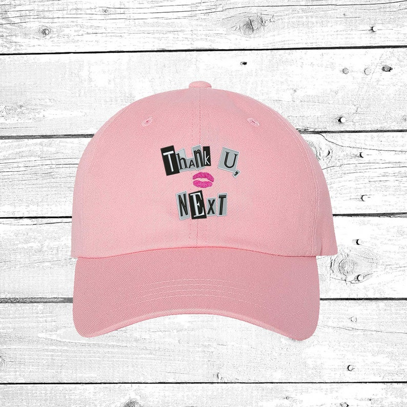 2c103c298b16 Cap Thank u Next Baseball Cap Music Lyrics baseball hats image ...