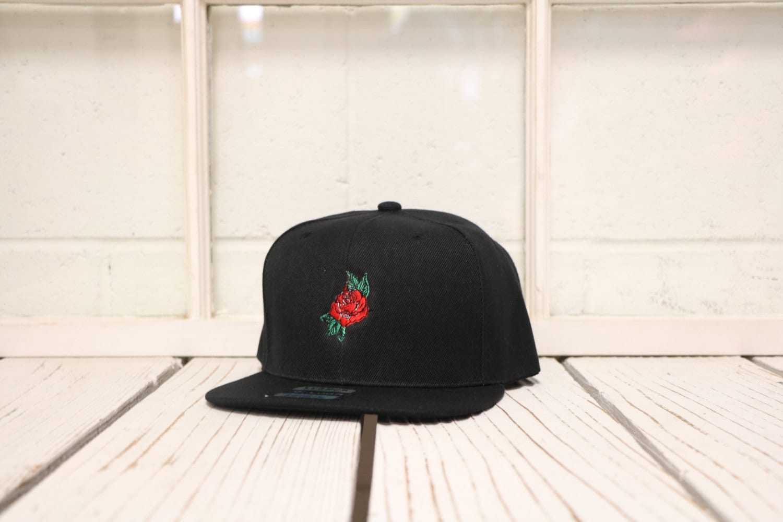 Plana cuenta Snapback gorra sombrero Rosa 3D Hip  0510703f827